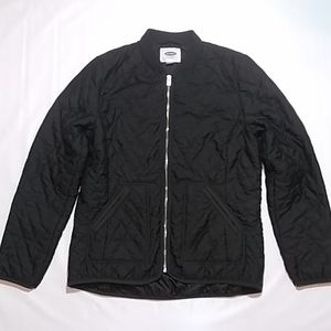 Old Navy Black Polyester Puffer Jacket